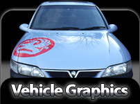 Vehicle graphics and Vinyl Letting